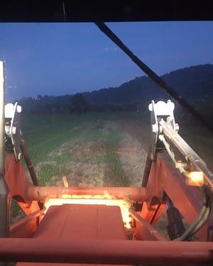 Momento lavorazione notturna