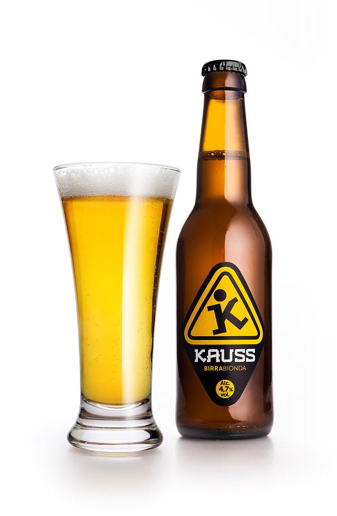 Birra bionda kauss