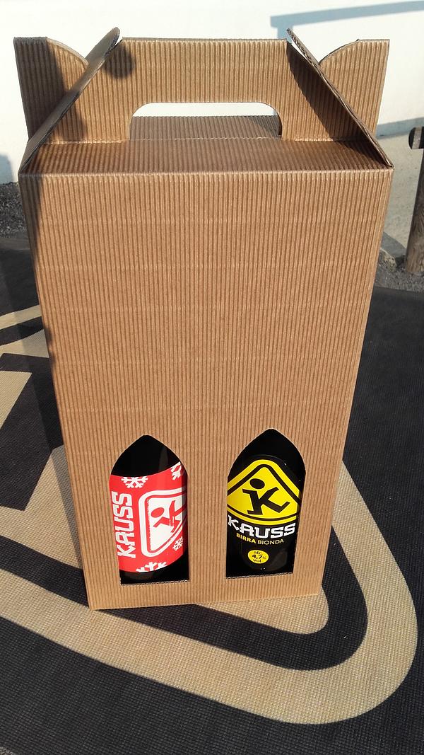 Confezione regalo Santa Kauss + Bionda cl75